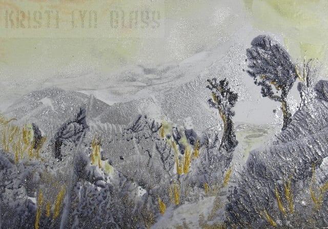 Encaustic Art Miniature