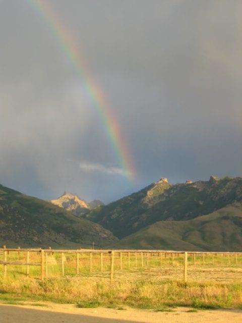 Lamoille Canyon Rainbow