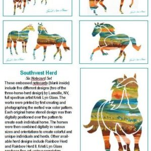 Southwest Herd 6 Note Card Set