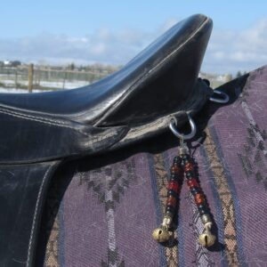 Saddle Dangle attached with clip