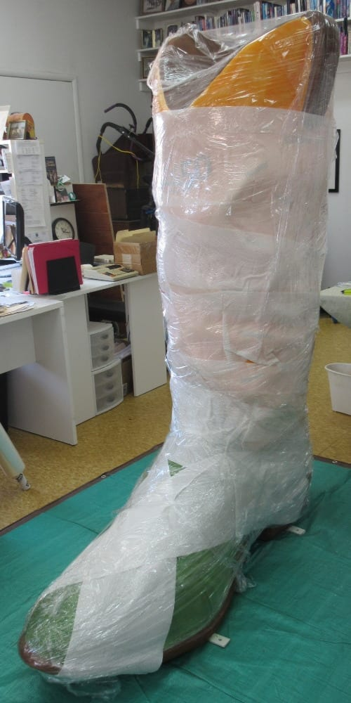 Wrapped Boot