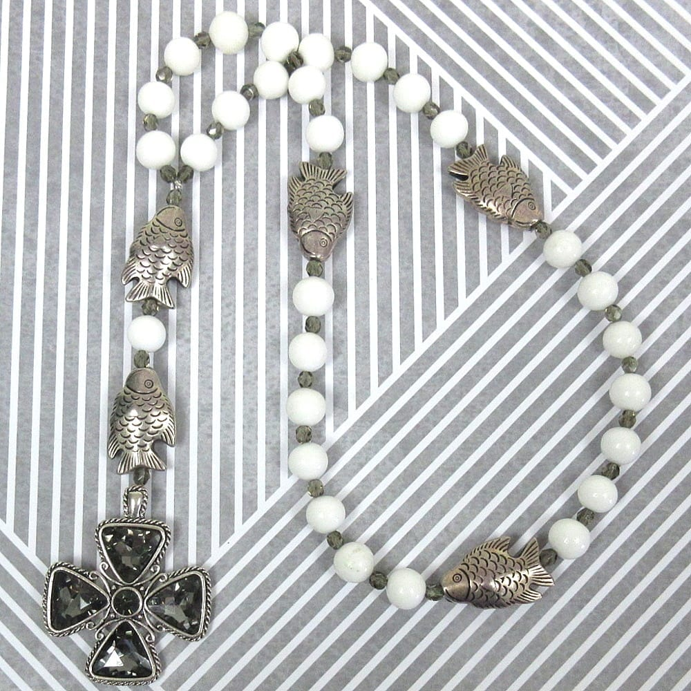 Fish Prayer Beads