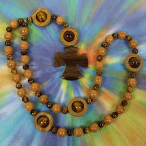 Jasper Agate Tigereye Prayer Beads
