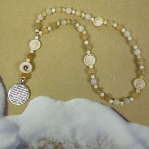 Lords Sea Shells Prayer Beads