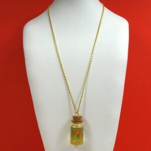 Gold Fish Necklace 4