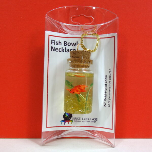 Gold Fish Bowl Necklace 5