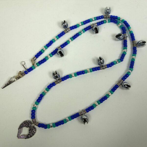 Blue Aqua Rhythm Beads