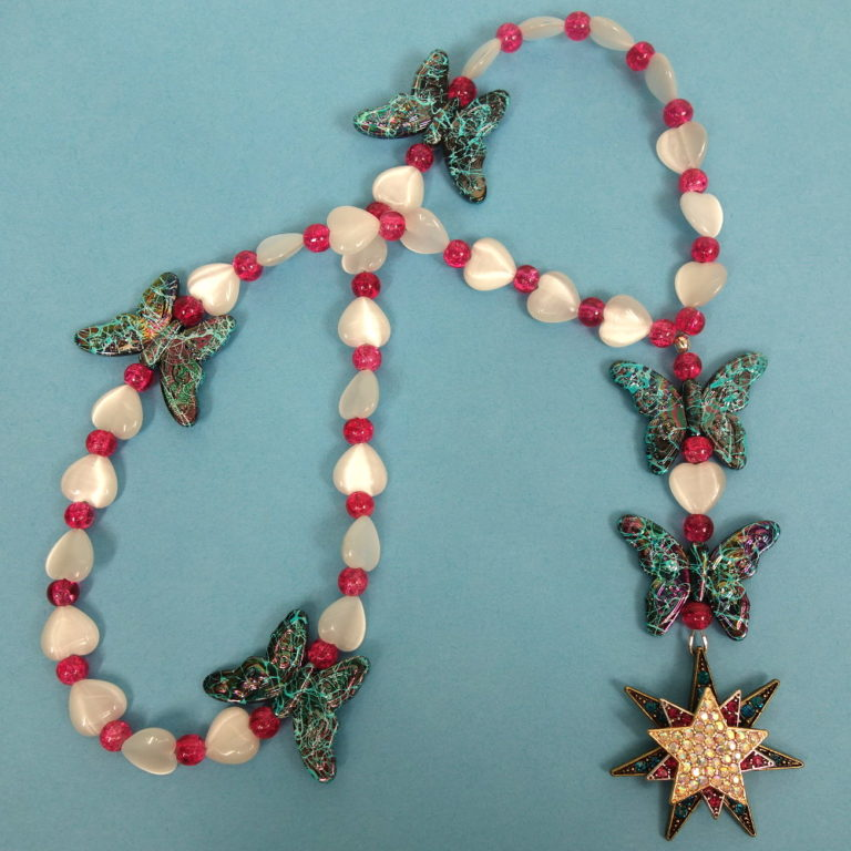 Butterfly Star Anglican Prayer Beads