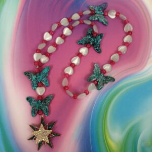 Butterfly Star Anglican Prayer Beads