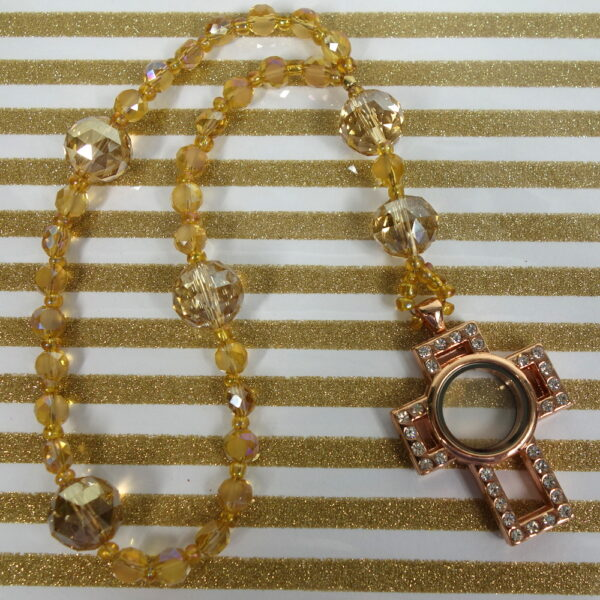 Golden Prayer Box Anglican Prayer Beads