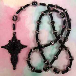 Ashes Of Roses Prayer Bead Necklace