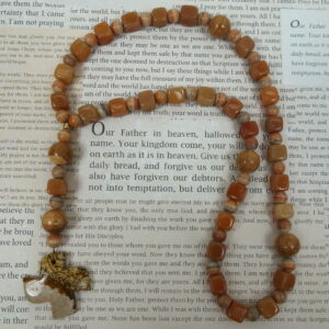Jasper Aventurine Protestant Prayer Beads