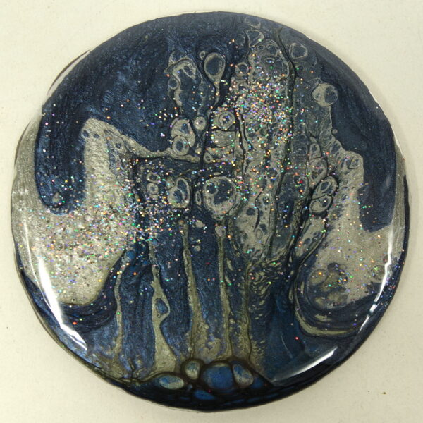 Silver Blue Magnet