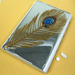 Golden Peacock Large 28-dose Pillbox