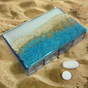 Sand Dunes 7-dose Rectangle Pillbox
