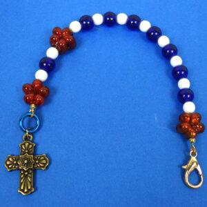 Patriotic Chaplet Bracelet