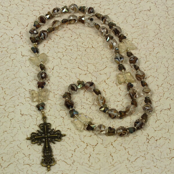 Bevy of Butterflies Prayer Bead Necklace