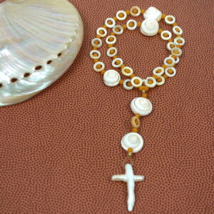 Pearly Shells Prayer Beads