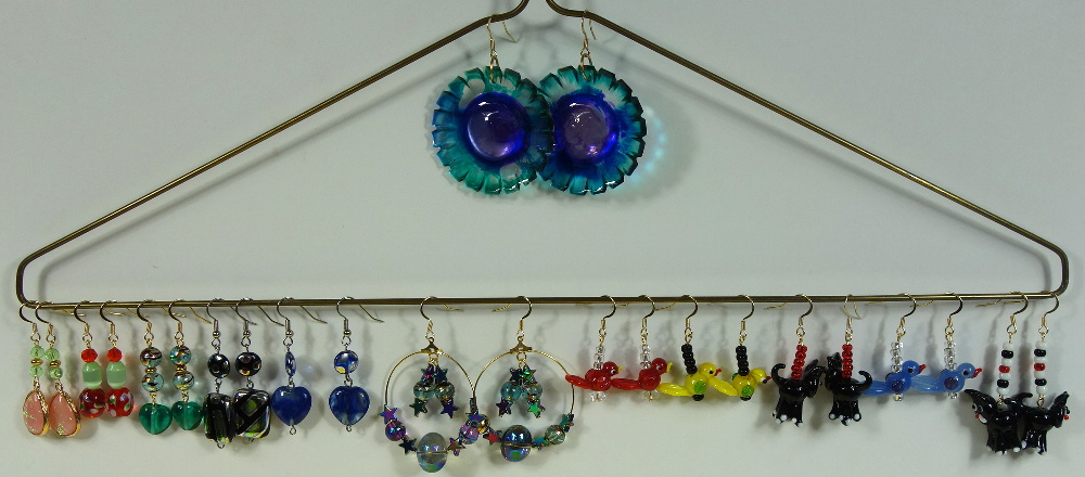 Dozen New Earrings
