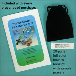 Prayer Bead Booklet & Pouch