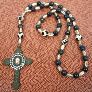 Agate Shell Prayer Bead Necklace