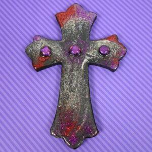 Red Purple Cross