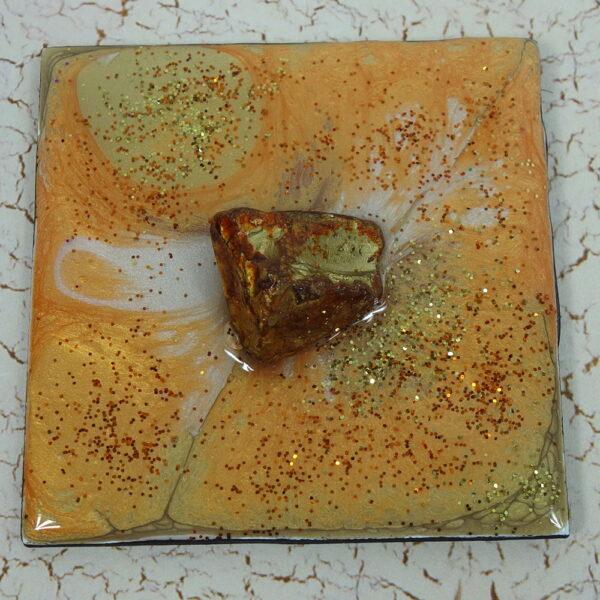 Rocky Gold Splotch Magnet
